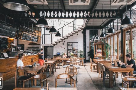 Modern Cafe in Singapore
